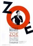 Zoe Saldana by Gregory Harris in Wonderland 01