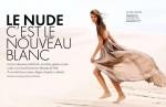 Thais Rumpel by Alain Richard for Elle Belgium June 2010, Le Nude C'est Le Nouveau Blanc 01
