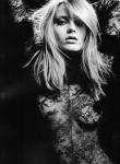 Anna Jagodzinska by Hedi Slimane for Vogue Nippon August 2010, Soft Machine 02