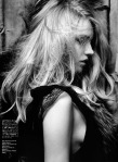 Anna Jagodzinska by Hedi Slimane for Vogue Nippon August 2010, Soft Machine 07