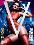 Eniko Mihalik by Mario Sorrenti for V Pre-Fall 2010 Cover