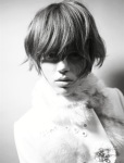 Freja Beha Erichsen by Glen Luchford for Vogue Italia October 2008 09