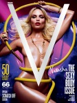 Natasha Poly by Mario Sorrenti for V Pre-Fall 2010 Cover