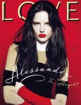 Alessandra Ambrosio by Mert & Marcus for Love Magazine #4 Cover