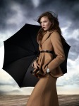 Karlie Kloss by Willy Vanderperre for Aquascutum Fall 2010 Campaign 06