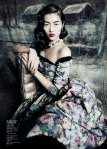 Liu Wen by Paolo Roversi for Vogue China September 2010, Dream Away 02