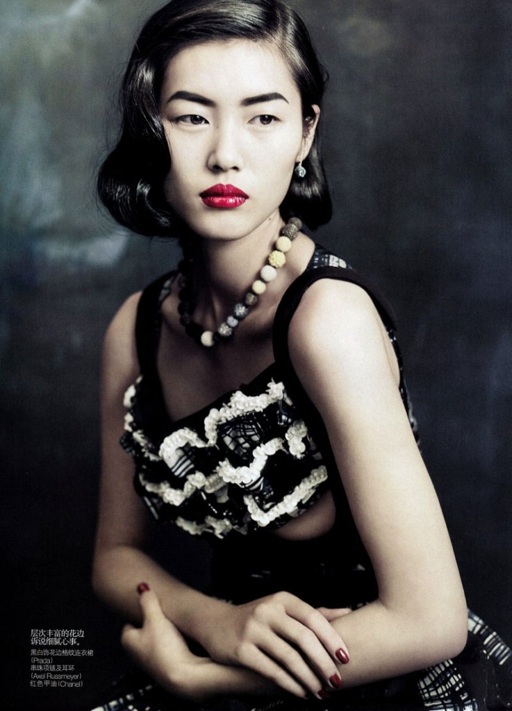 Liu Wen by Paolo Roversi for Vogue China September 2010, Dream Away 11