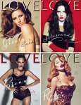 Love Magazine #4 Cover compilation