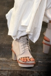 Alexander Wang Spring 2011 01 shoes + skirt