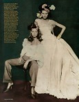 Amber Valletta & Shalom Harlow by Paolo Roversi for Vogue UK May 1996, Rainbow Warriors 06