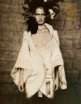 Amber Valletta & Shalom Harlow by Paolo Roversi for Vogue UK May 1996, Rainbow Warriors 09