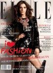 Diana Dondoe by Sylvie Malfray for Elle Romania September 2010 Cover