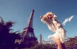 Edita Vilkeviciute by Camilla Akrans for Numéro #117, Champs de Mars 09