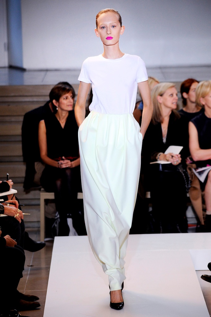 Ready to wear Spring Summer 2011 Jil Sander Milan September 2010