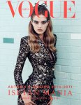 Mathilde Frachon by Lachlan Bailey for Vogue Nippon October 2010 Cover