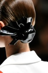 Versace Spring 2011 hair