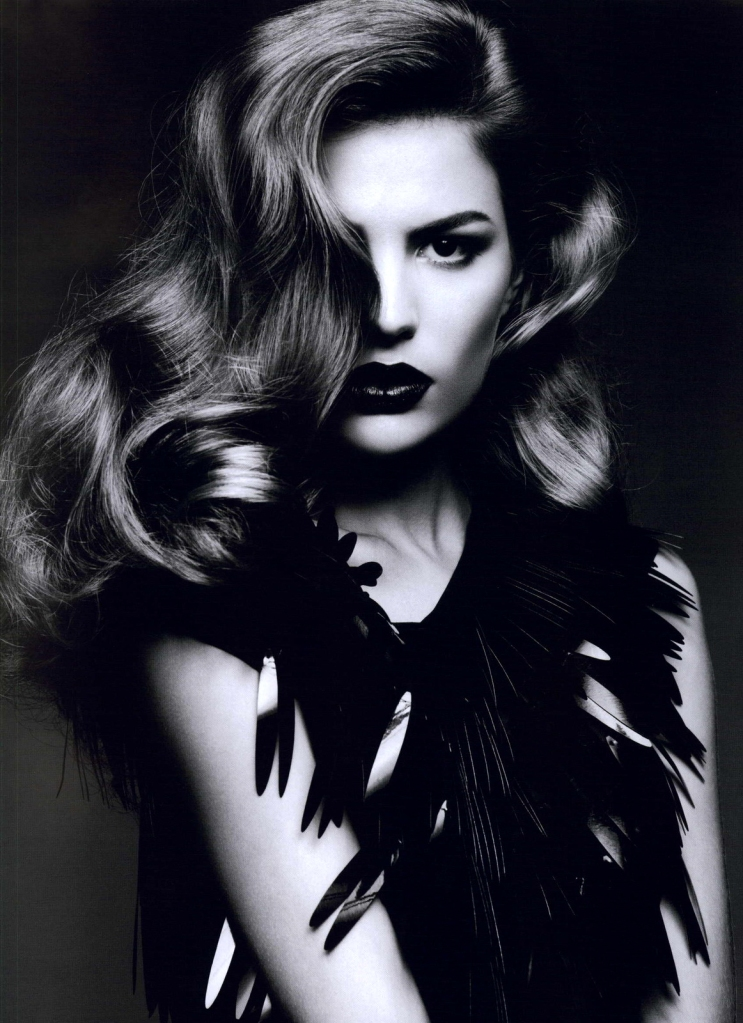 Cameron Russell by Ben Hassett for Numéro #117, Equinox 01
