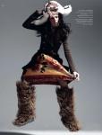 Coco Rocha by Alan Gelati for Harper's Bazaar Russia November 2010 03