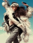 Liu Wen by Greg Kadel for Vogue Germany November 2010, Wild Dreams 01