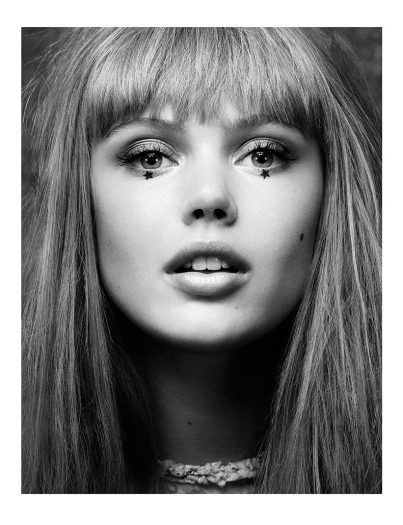 Frida Gustavsson by Lachlan Bailey for Vogue UK December 2010, Seeing Stars 02