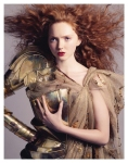 Lily Cole by Andreas Sjödin for Vogue Nippon January 2007 02