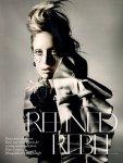 Raquel Zimmermann by Nick Knight for Vogue UK November 2010, Refined Rebel 02
