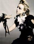 Raquel Zimmermann by Nick Knight for Vogue UK November 2010, Refined Rebel 09