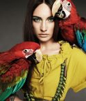 Jacquelyn Jablonski by Alexi Lubomirski for Max Mara Spring 2011 Campaign Weekend Collection 04