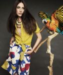 Jacquelyn Jablonski by Alexi Lubomirski for Max Mara Spring 2011 Campaign Weekend Collection 07