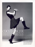Karlie Kloss by David Sims for Vogue March 2009, Coco Dancer 01