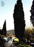 Lara Stone by Mario Testino for Vogue US January 2011, Tuscan Turnaround 05