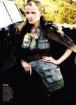 Lara Stone by Mario Testino for Vogue US January 2011, Tuscan Turnaround 07