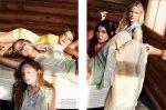 Bambi Northwood-Blyth, Lisanne de Jong, Hannah Holman, Abbey & Meag by Benny Horne for Russh #38, Just Like Sisters 03