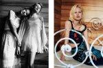 Bambi Northwood-Blyth, Lisanne de Jong, Hannah Holman, Abbey & Meag by Benny Horne for Russh #38, Just Like Sisters 04