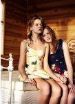 Bambi Northwood-Blyth, Lisanne de Jong, Hannah Holman, Abbey & Meag by Benny Horne for Russh #38, Just Like Sisters 06