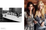 Bambi Northwood-Blyth, Lisanne de Jong, Hannah Holman, Abbey & Meag by Benny Horne for Russh #38, Just Like Sisters 09