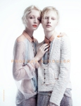 Melissa Tammerijn and Julia Nobis by Willy Vanderperre for Proenza Schouler Spring 2011 Ad Campaign 03