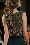 Emilio Pucci Fall 2011 48 back detail