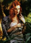 Karen Elson by Bruce Weber for Vogue US March 2011, The Enchanted Garden 02