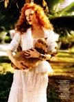 Karen Elson by Bruce Weber for Vogue US March 2011, The Enchanted Garden 03