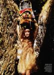 Karen Elson by Bruce Weber for Vogue US March 2011, The Enchanted Garden 06
