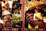 Karen Elson by Bruce Weber for Vogue US March 2011, The Enchanted Garden 07