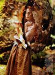 Karen Elson by Bruce Weber for Vogue US March 2011, The Enchanted Garden 08