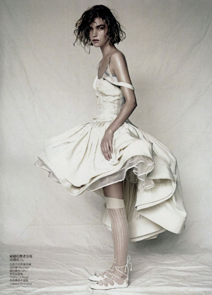 Arizona Muse by Paolo Roversi for Vogue China April 2011, Sound of Silence 10