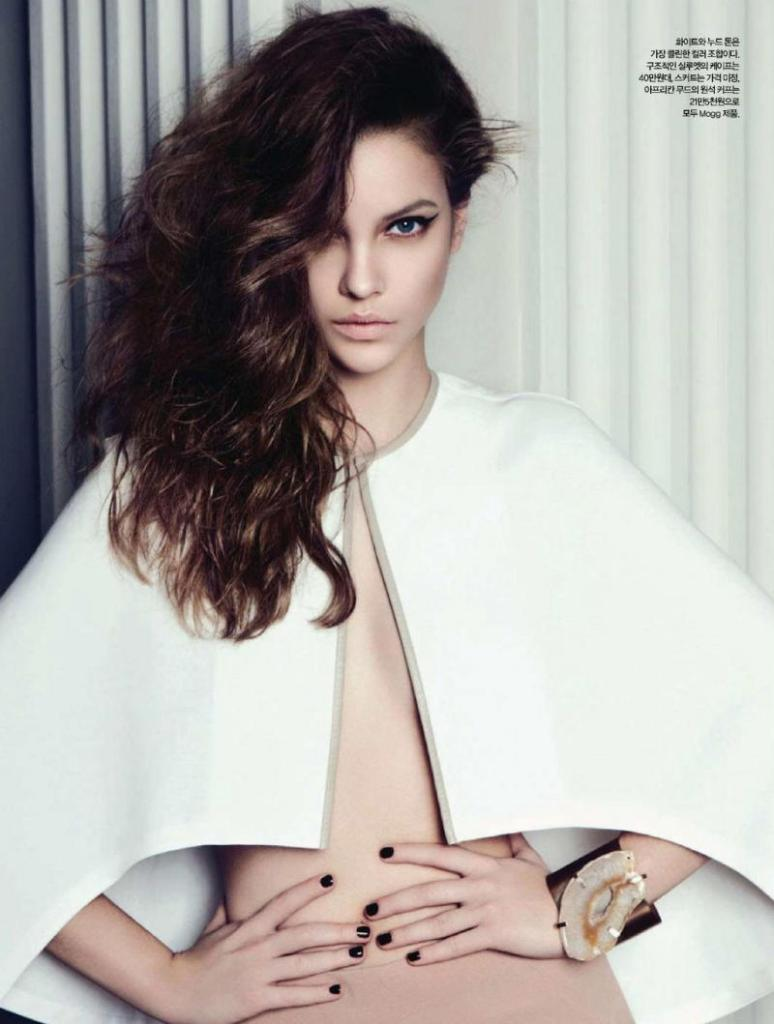Barbara Palvin by Rama for Harper's Bazaar Korea April 2011, Delicate Beauty 02