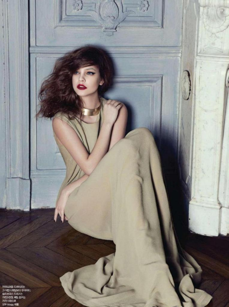 Barbara Palvin by Rama for Harper's Bazaar Korea April 2011, Delicate Beauty 03