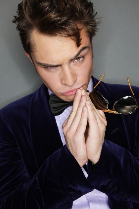 Ed Westwick by Steve Erle for Gotham Magazine 01