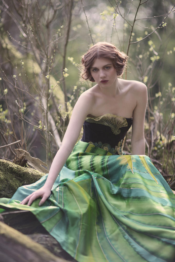 Holly by Natalie J Watts for Vecu Spring 2011, The Enchanted Forest 01