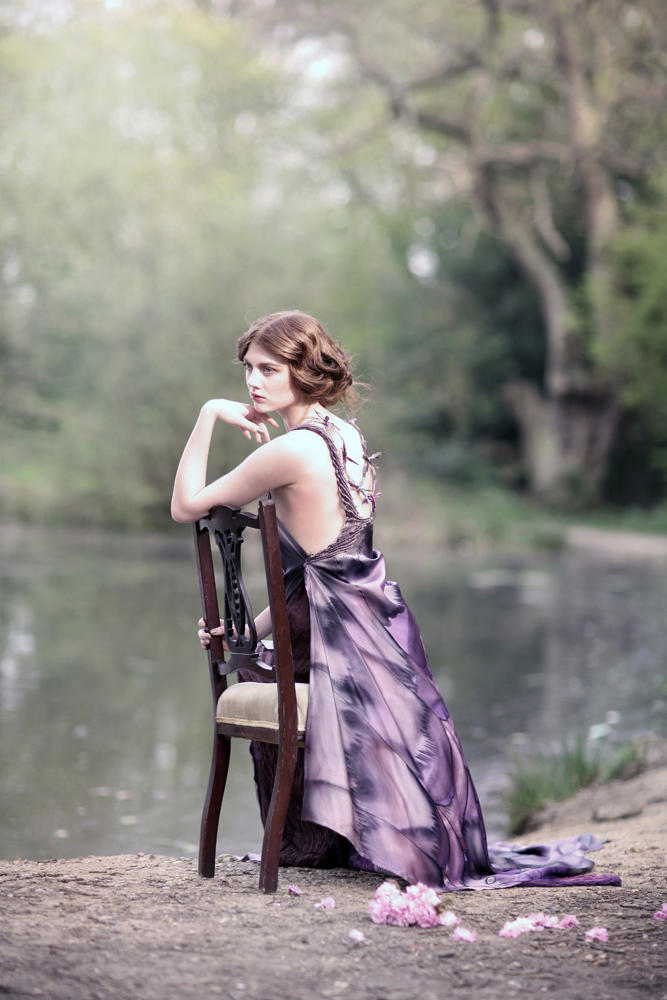 Holly by Natalie J Watts for Vecu Spring 2011, The Enchanted Forest 07