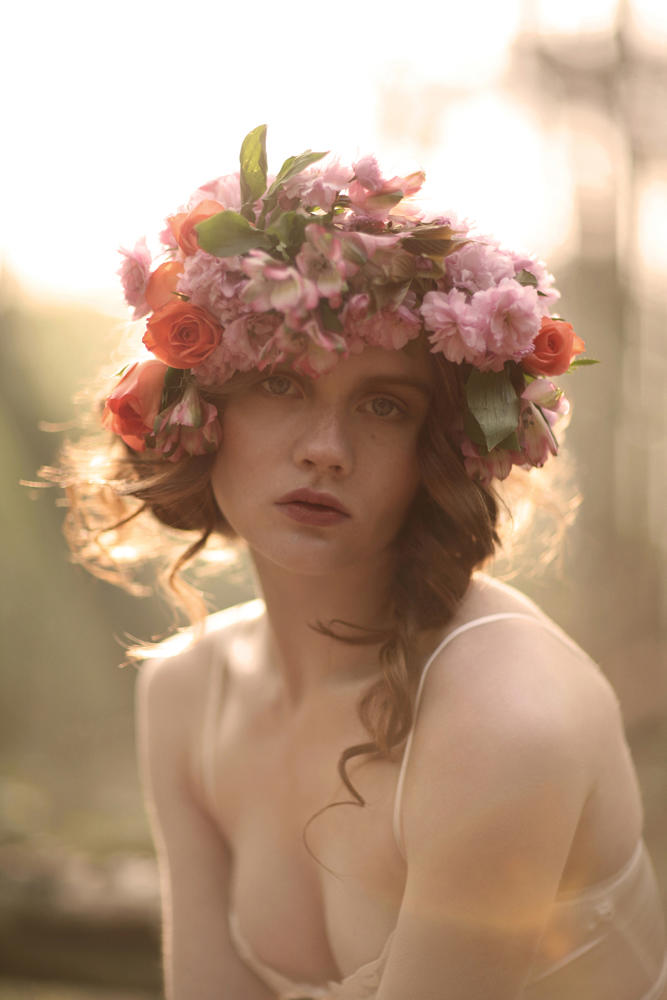Holly by Natalie J Watts for Vecu Spring 2011, The Enchanted Forest 11